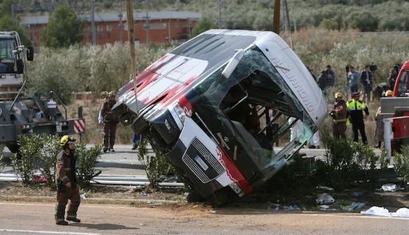 Identificadas todas las víctimas mortales del accidente de Tarragona