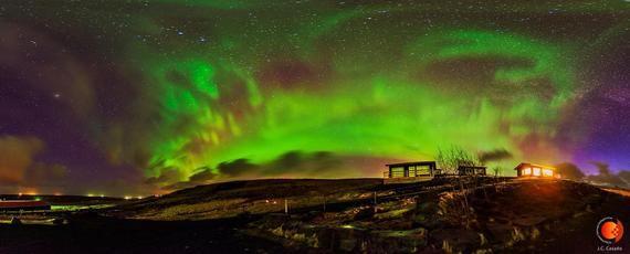 El IAC retransmitirá auroras boreales en directo los próximos días 25, 26 y 27