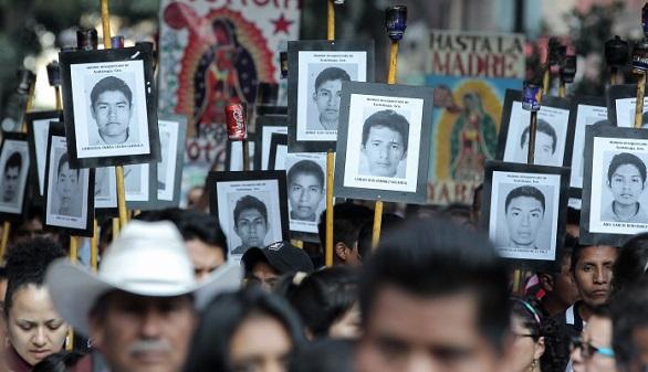 La investigación del caso de los 43 estudiantes desaparecidos en Ayotzinapa se reactiva