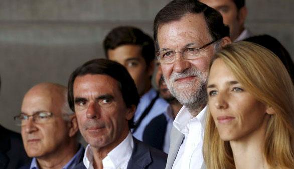 Aznar nombra a San Gil, Álvarez de Toledo, Casado y Gallardón nuevos patronos de FAES