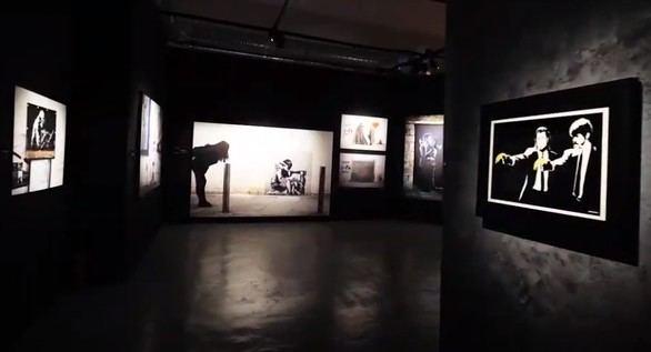 El arte urbano de Banksy vuelve a Madrid: ¿genio o gamberro?