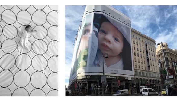 Un bebé madrileño en la Galería Mundial de imágenes de Apple