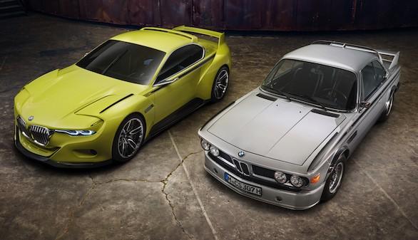 BMW 3.0 CSL Hommage Concept, homenaje a un modelo mítico