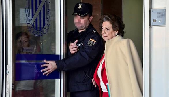 El juez pide al Supremo la imputación de Rita Barberá