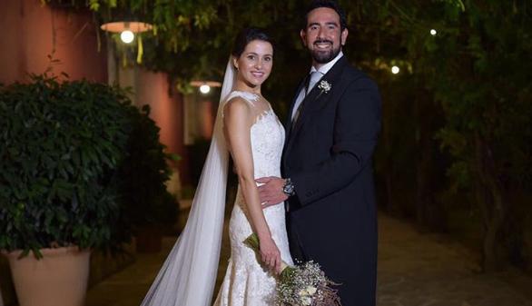 El 'sí quiero' de Inés Arrimadas y Xavier Cima en Jerez de la Frontera