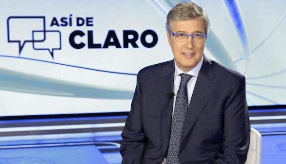 'TVE' retira de La 1 el programa de Buruaga