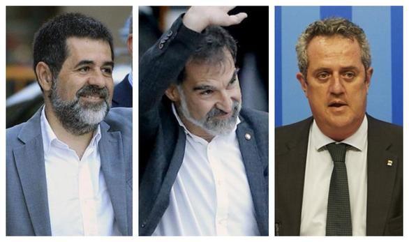 Forn, Sánchez y Cuixart renuncian a la vía unilateral