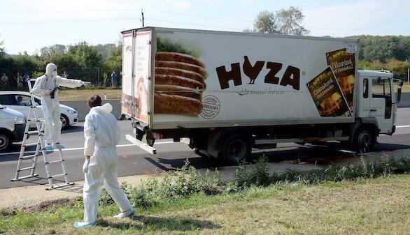 Detienen en Hungría a los supuestos traficantes del camión con 71 cadáveres
