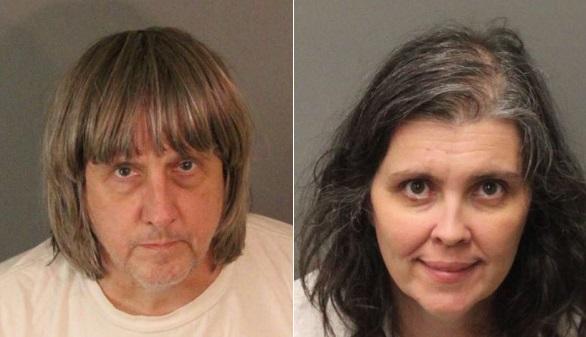 California arresta a dos padres por secuestrar y torturar a sus 13 hijos