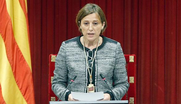 Catalá, sobre el discurso soberanista de Forcadell: