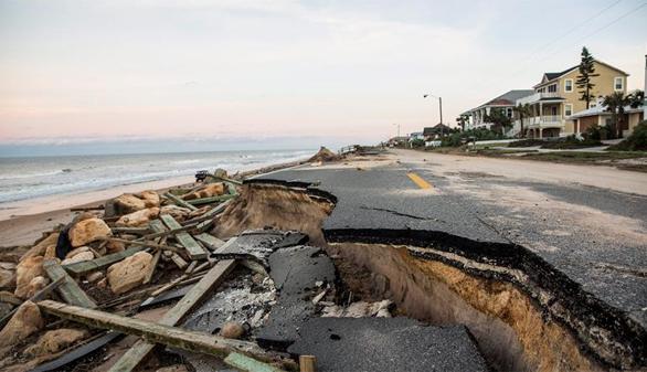 El huracán Matthew deja 19 muertos en EEUU