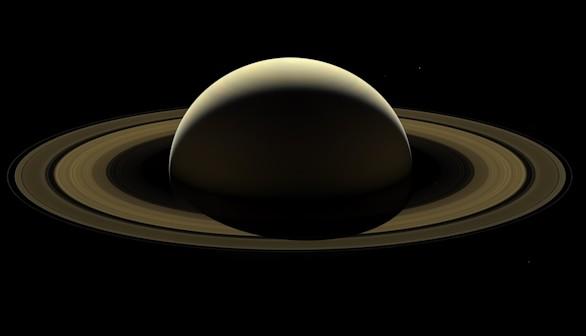 La última imagen de Saturno enviada por Cassini, tras 13 años de servicio