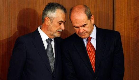 Diligencias contra Chaves, Griñán y otros 50 cargos por el caso de los ERE