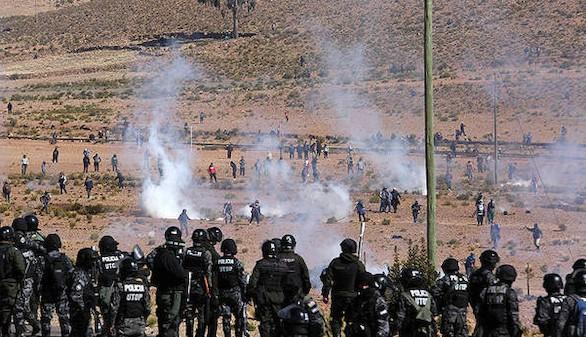 Viceministro boliviano, asesinado por los mineros que lo retenían