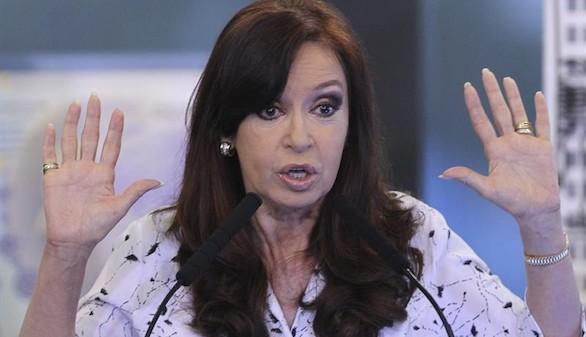 Un juez señala a Cristina Fernández por presunto blanqueo de dinero
