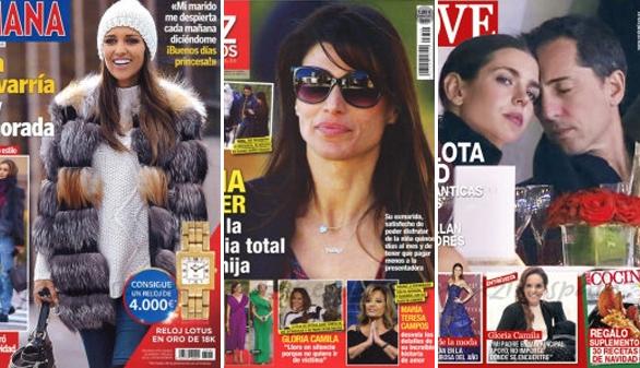 Paula Echevarría sigue acallando rumores y Sonia Ferrer pierde la custodia