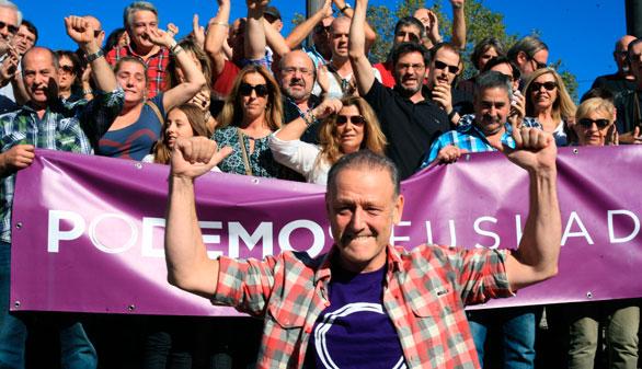Dimite la mayor parte de la dirección de Podemos Euskadi