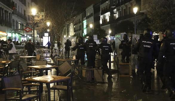 Tres de los diecisiete detenidos tras las Marchas de la Dignidad son menores