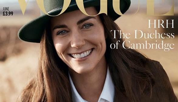 La duquesa de Cambridge, en la portada de Vogue por el centenario de la revista