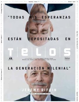 Jeremy Rifkin, protagonista del nuevo número de la revista Telos