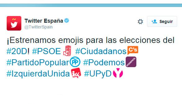 Twitter se mete en campaña electoral: #DebateEn140 y emojis