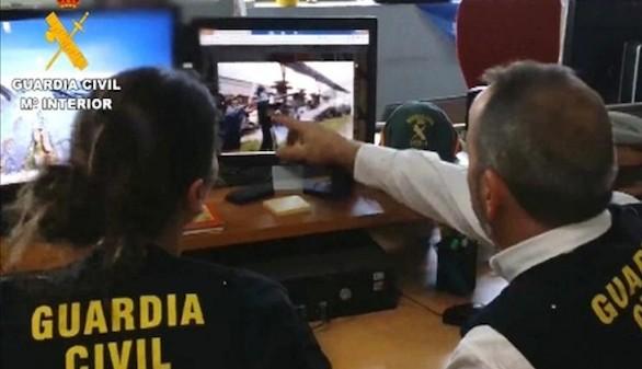 Cinco detenidos en el País Vasco por enaltecimiento del terrorismo en redes sociales