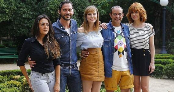 Candela Peña, Paco León, Natalia de Molina, Luis Callejo y Alexandra Jiménez (Foto: EFE)