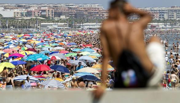 El turismo en España crece casi un 4 por ciento en el segundo trimestre
