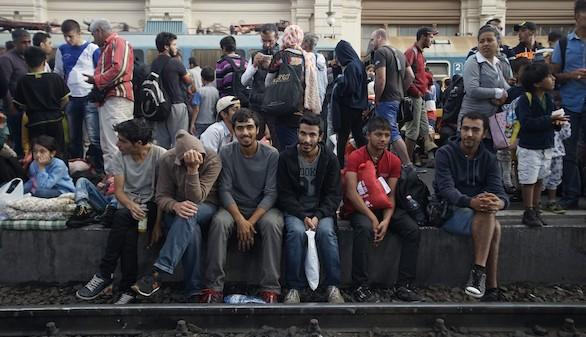 Detenido un tren con refugiados procedente de la estación de Budapest