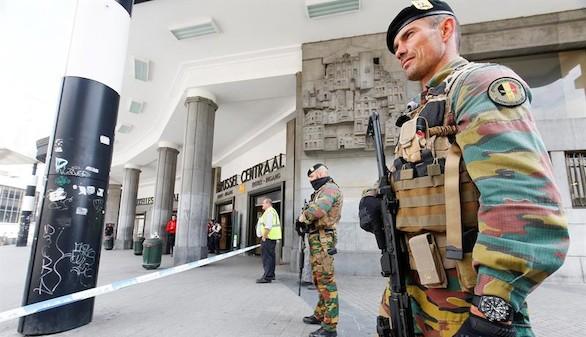 El detenido en Bruselas podría tener vínculos con Daesh