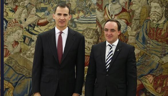 Esparza dice al Rey que España necesita 'un Gobierno cuanto antes'