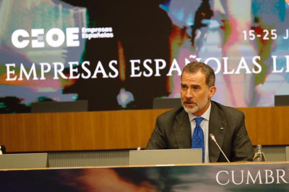 Discurso íntegro del Rey en la clausura de la cumbre empresarial