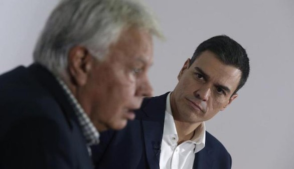 Felipe González: 'Me siento engañado por Pedro Sánchez'