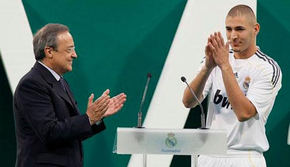 El Madrid arropa a Karim Benzema