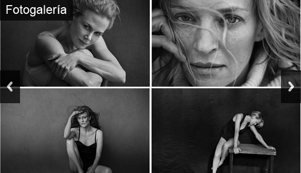 Kidman, Moore, Thurman... el Hollywood más recatado en el calendario Pirelli 2017