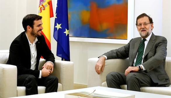 Garzón también hace campaña en Moncloa: no participará en el