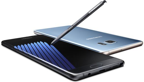 Suspendidas las ventas del Galaxy Note 7 tras la explosión de baterías