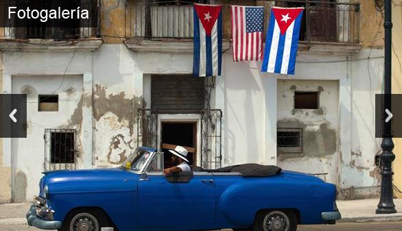 Expectación y lluvia en la primera jornada de Obama en La Habana