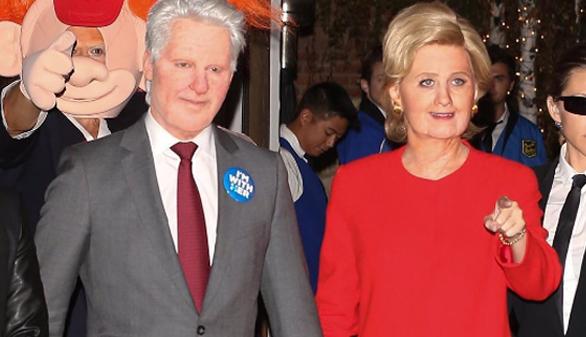 De Trump y Clinton a Stranger Things: así fue el Halloween de las celebrities