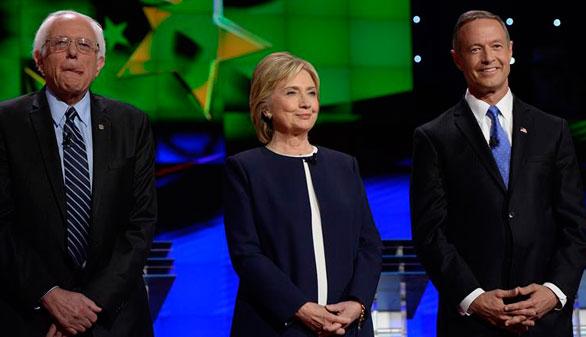 Hillary Clinton se confirma favorita en el primer debate demócrata