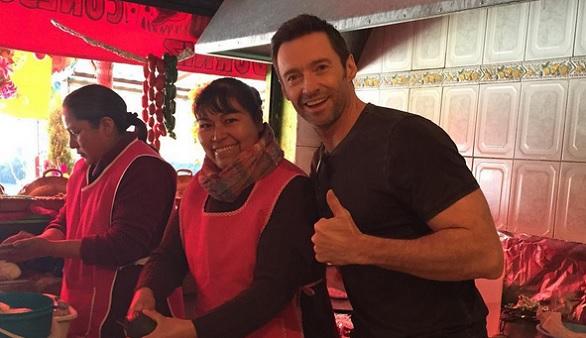 La peculiar campaña de Hugh Jackman para conseguir el mejor taco mexicano