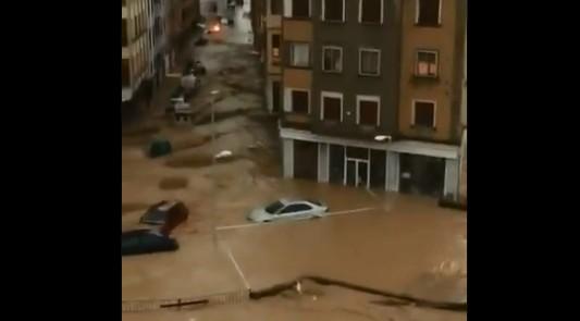 Un muerto y daños materiales por las graves inundaciones en Navarra