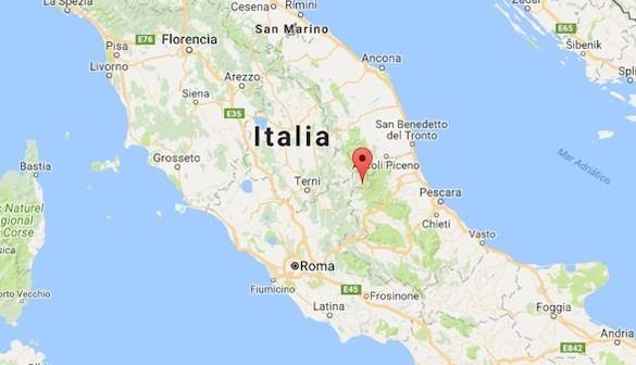 Un terremoto de 5,4 grados sacude el centro de Italia