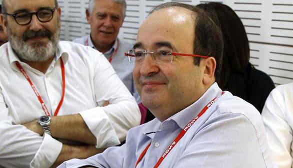 Iceta quiere mantener el 'no' de los catalanes sin romper con el PSOE