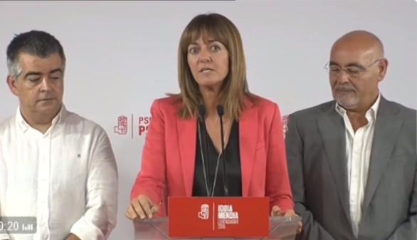 Mendia achaca el batacazo a Podemos y a la baja participación