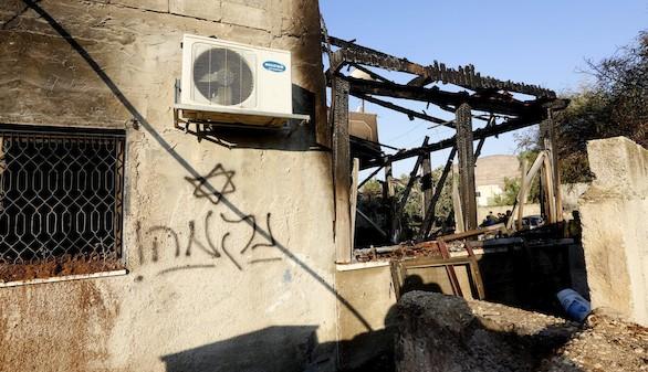 Un bebé palestino muere en el incendio de su casa provocado por radicales israelíes
