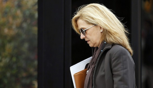 El juez Castro rechaza reducir la fianza de la infanta Cristina