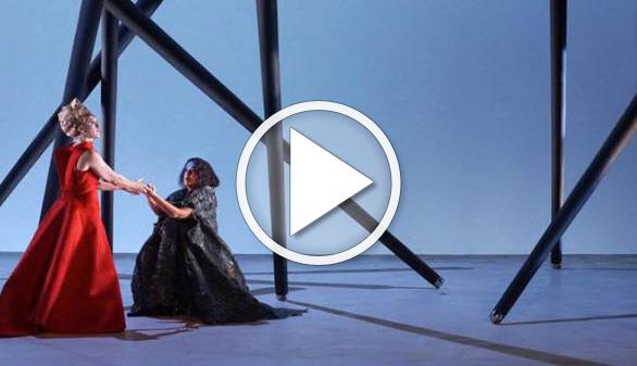 El Teatro de la Zarzuela estrena Iphigenia en Tracia, con María Bayo