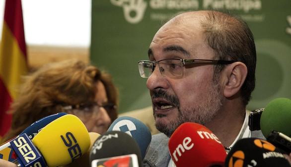 Lambán pide una reunión con el Papa para tratar el conflicto con Cataluña