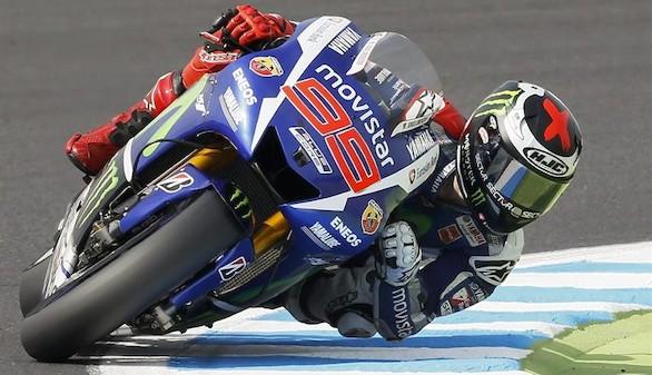 Lorenzo sentencia en un apretado final por delante de Rossi y Márquez